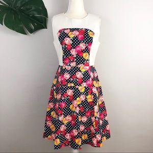 🆕 Karen Walker Hi There Structured Floral Dress